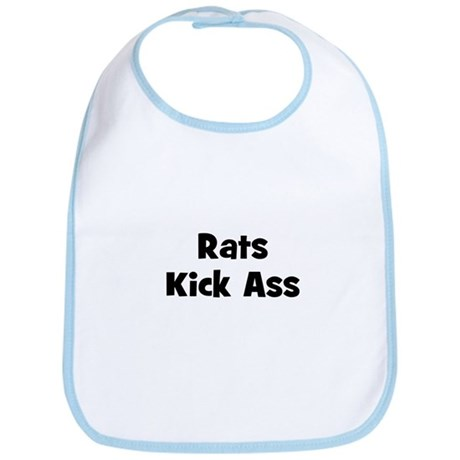 Rats Kick Ass Bib