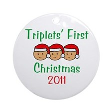 Unique First trip Ornament (Round)