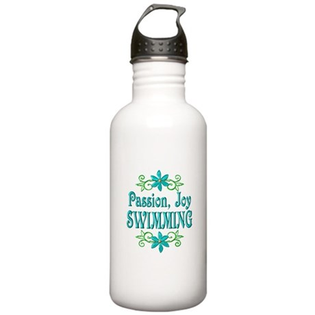 Swimming Joy Stainless Water Bottle 1.0L