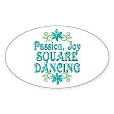 Square Dancing Joy Decal