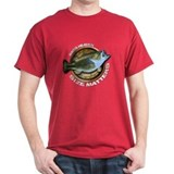 Dark Size Matters Bass Fishing T-Shirt