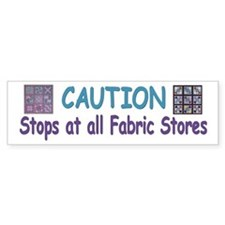 Fabric Bumper Stickers