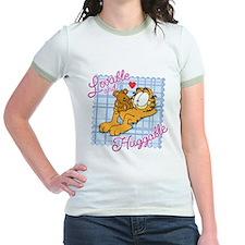 Lovable & Huggable Jr. Ringer T-Shirt