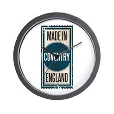 MADE IN COVENTRY Wall Clock