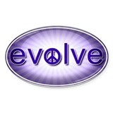 Evolve with Peace - Decal