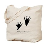Alligator Tracks Tote Bag