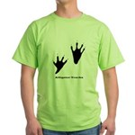 Alligator Tracks Green T-Shirt