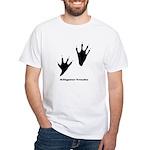 Alligator Tracks White T-Shirt