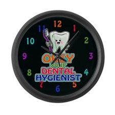 Dentist Dental Hygienist Large Wall Clock