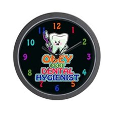 Dentist Dental Hygienist Wall Clock