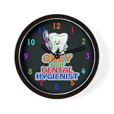 Dentist Dental Hygienist Wall Clock