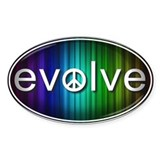 Evolve with PEACE! - Decal