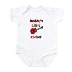 Daddy's Little Rocker Infant Creeper