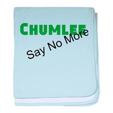 Chumlee Say No More baby blanket