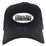 Obama Won Get Over It Baseball Hat
