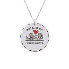 Funny Personalized Wedding Necklace