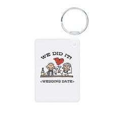 Funny Personalized Wedding Keychains