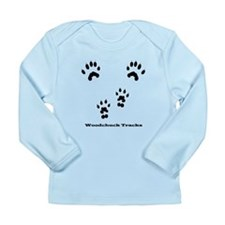 Woodchuck Tracks Long Sleeve Infant T-Shirt