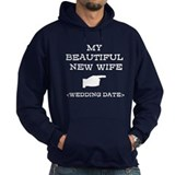 New Wife (Wedding Date) Hoodie