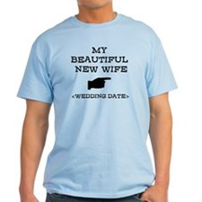 New Wife (Wedding Date) T-Shirt