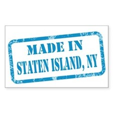 MADE IN STATEN ISLAND Decal