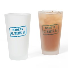 MADE IN ST. MARYS, GA Drinking Glass