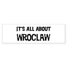 All about Wroclaw Bumper Car Sticker