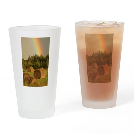 Leprechaun Farms Drinking Glass