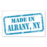 MADE IN ALBANY Decal
