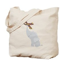 Autism Elephant Awareness Tote Bag