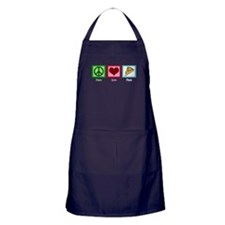 Peace Love Pizza Apron (dark)