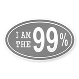 I am the 99 Percent Decal