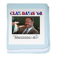 Clay Davis baby blanket