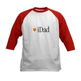 iDad Orange Father & Baby Tee