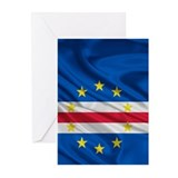 Cape Verde Flag Greeting Cards (Pk of 10)