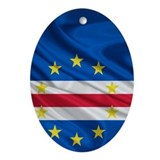 Cape Verde Flag Ornament (Oval)