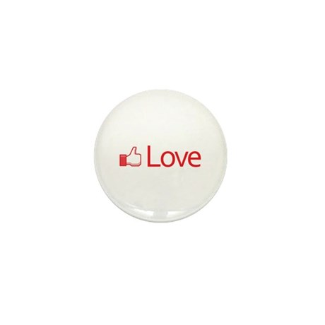 Love Button Mini Button