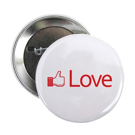 Love Button 2.25 Inch Buttons ~ Pack of 10