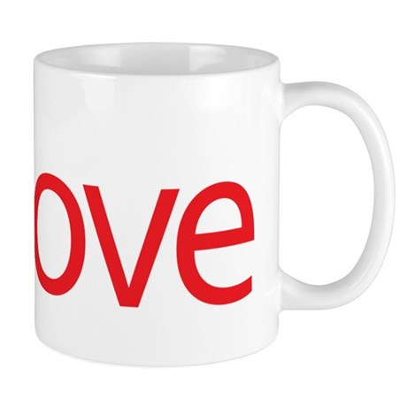 Love Button Coffee Mug
