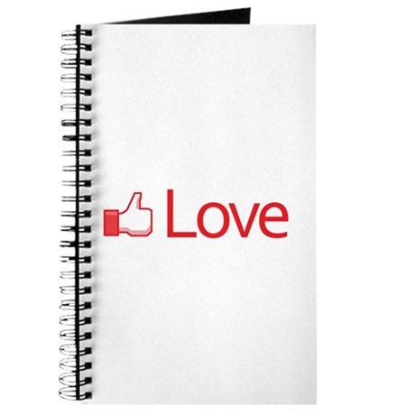 Love Button Journal