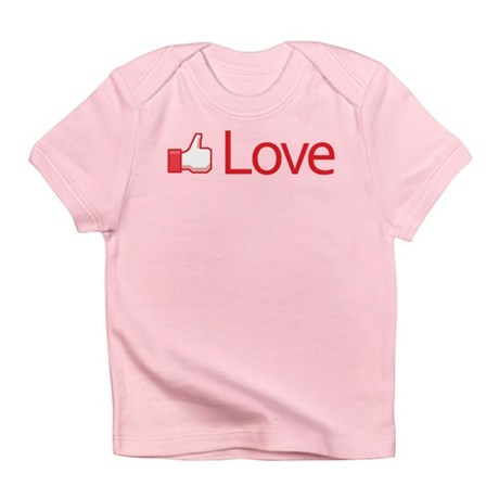Love Button Infant T-Shirt