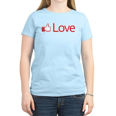 Love Button Women's Light T-Shirt