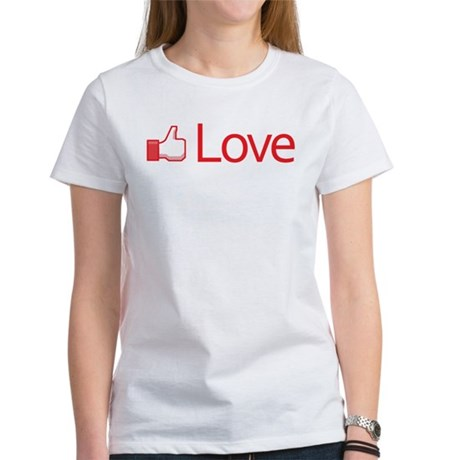 Love Button Women's T-Shirt