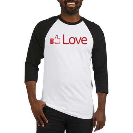 Love Button Men's Baseball Jersey