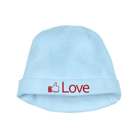 Love Button Baby Hat