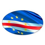 Cape Verde Flag Decal