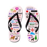 Twilight Memories Flip Flops