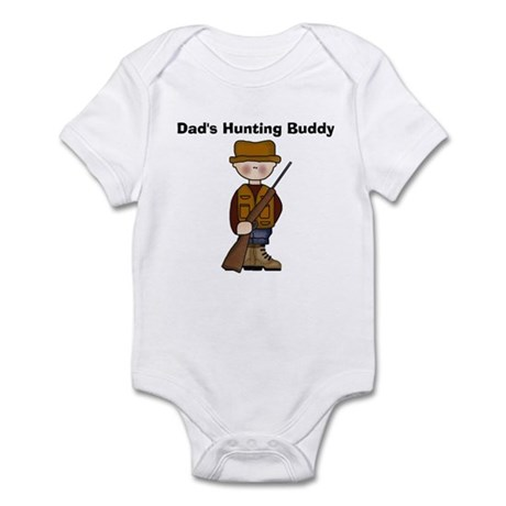 Dad's Hunting Buddy Infant Creeper