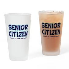 Senior Citizen, where is my d Drinking Glass