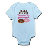 Harp Player Powered By Donuts Infant Bodysuit